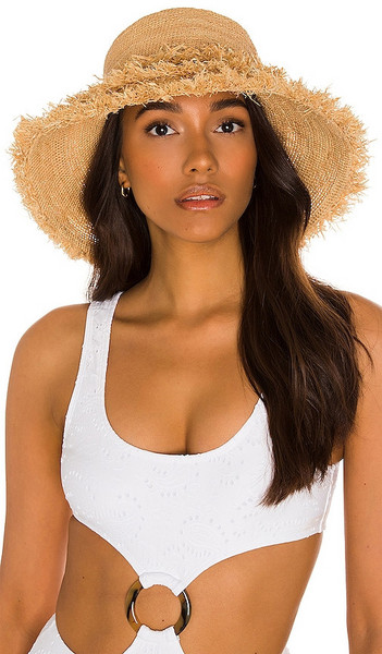 florabella Gia Hat in Neutral in natural