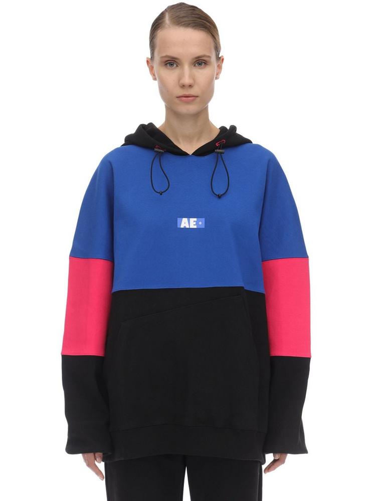 ADER ERROR Printed Cotton Jersey Sweatshirt Hoodie