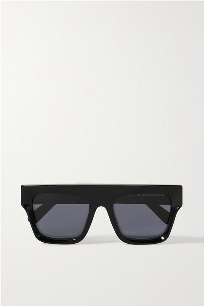 STELLA MCCARTNEY - D-frame Acetate Sunglasses - Black