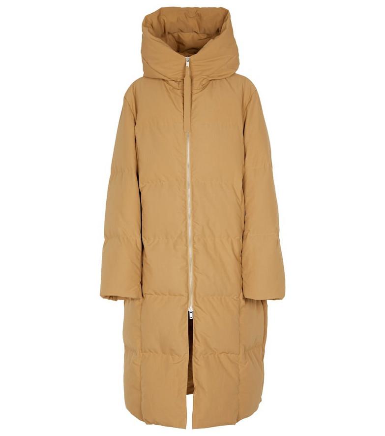Jil Sander Quilted coat in beige