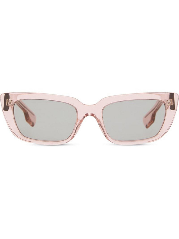 Burberry Eyewear rectangular-frame sunglasses in pink