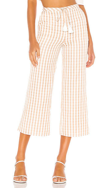 MAJORELLE Theo Pant in Tan