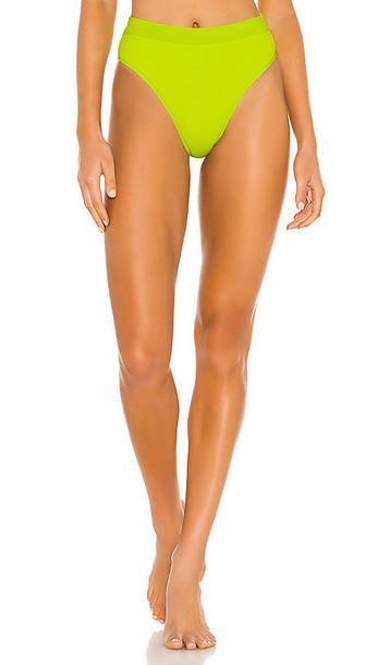 L*SPACE X REVOLVE Frenchi Bikini Bottom in Green