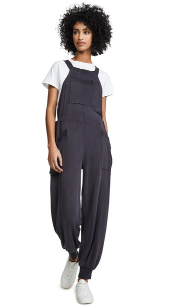 978b1478e Free People Movement Jump Start Jumpsuit in black - Wheretoget