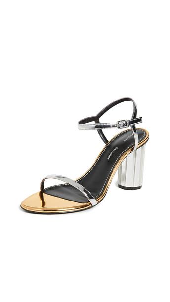 Proenza Schouler Metallic Sandals