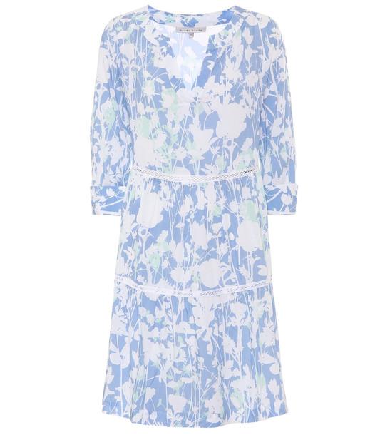 Heidi Klein Langkawi printed minidress in blue