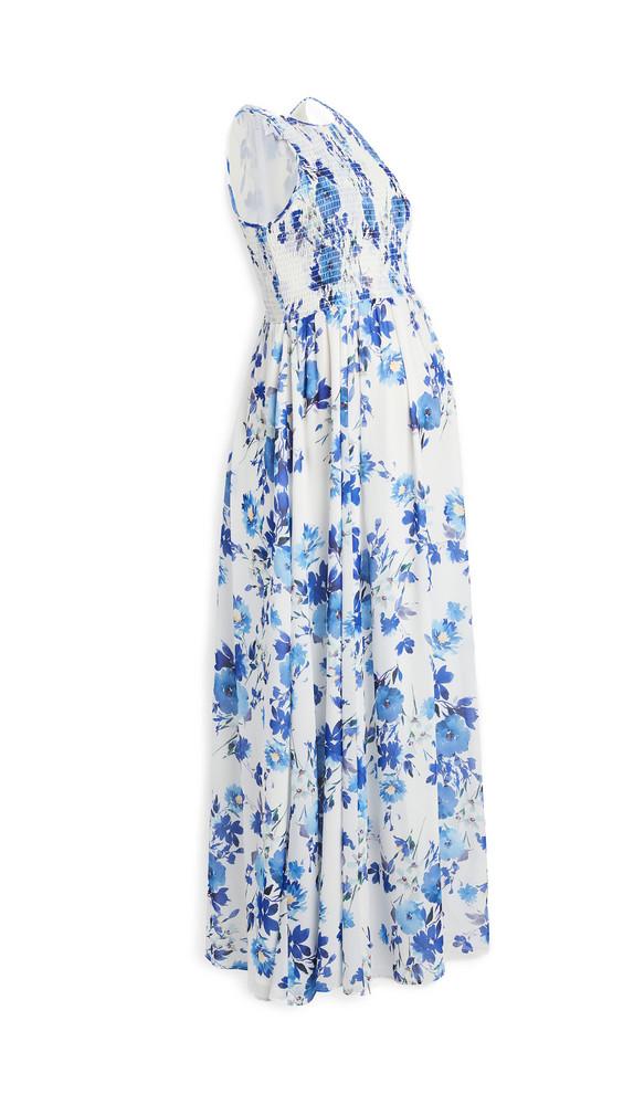 Yumi Kim Maternity Whitney Maxi Dress in ivory