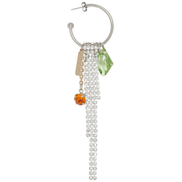 Justine Clenquet Silver Faye Earring