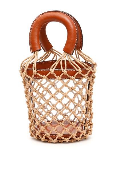 STAUD Pvc Moreau Bag in brown