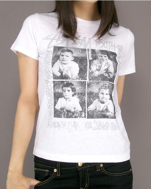 t-shirt stussy t-shirt