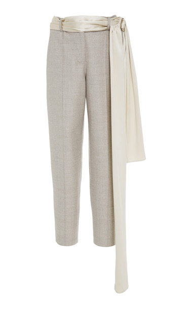 Hellessy Rapunzel Cigarette Trouser in grey