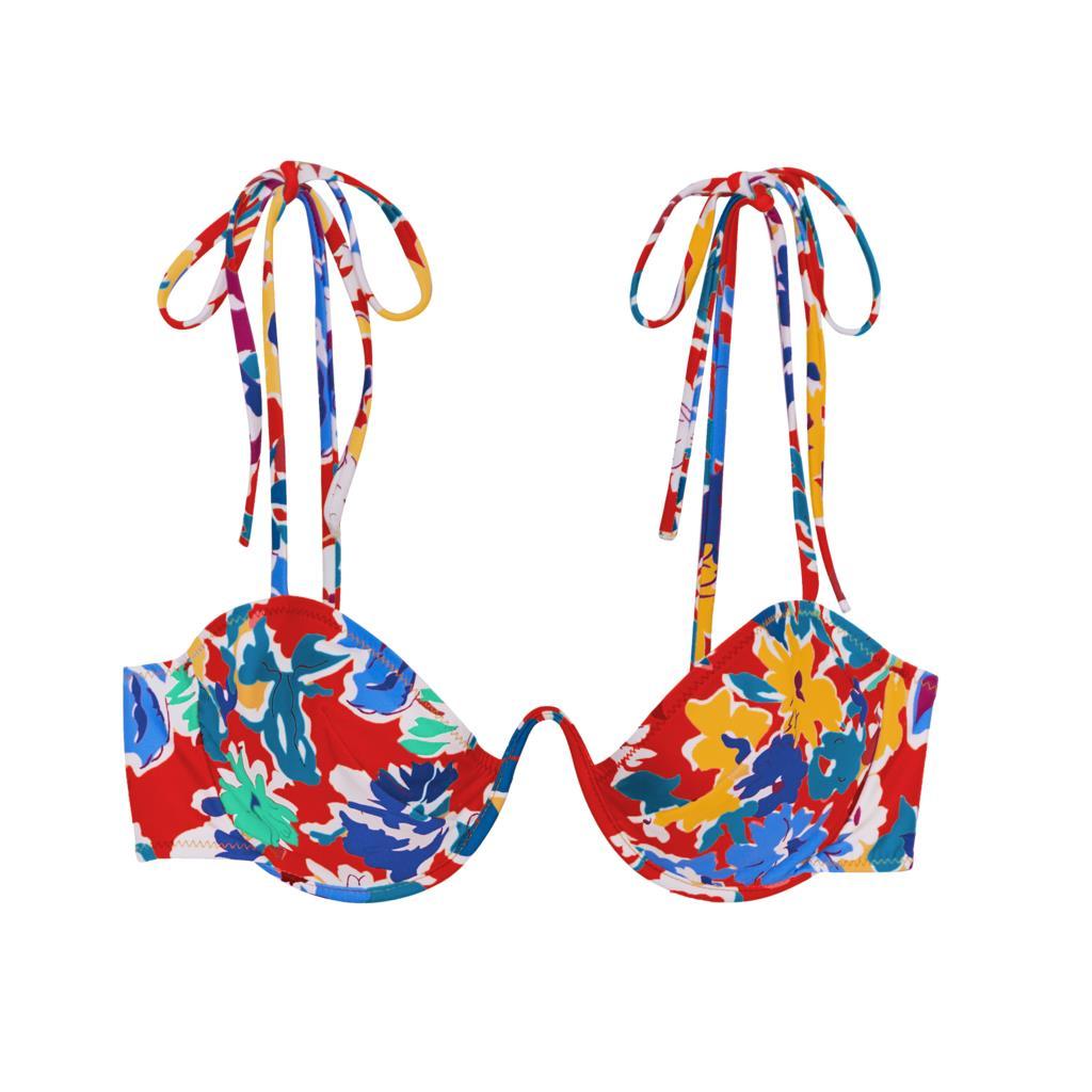 Myriam Bikini Top Liberty Carmine