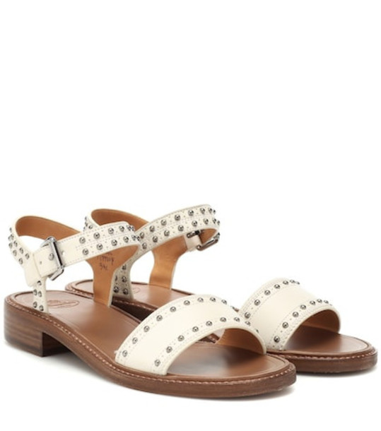 Church's Studded leather sandals in white