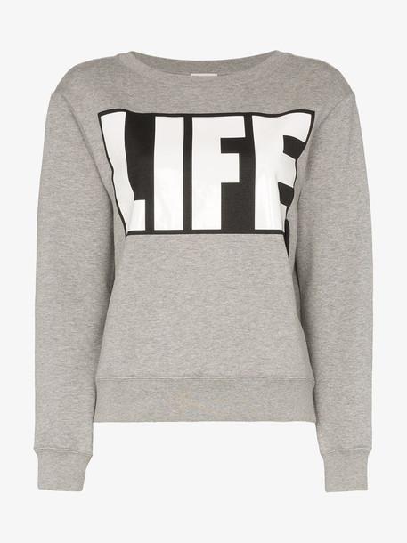 Moncler Life-print cotton jumper