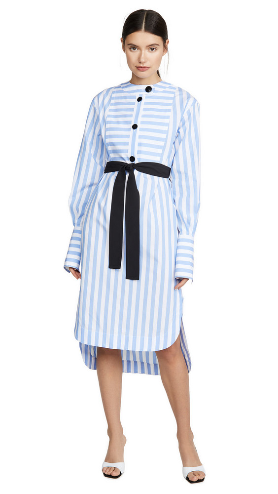 Yigal Azrouel Candy Stripe Tunic Dress in multi