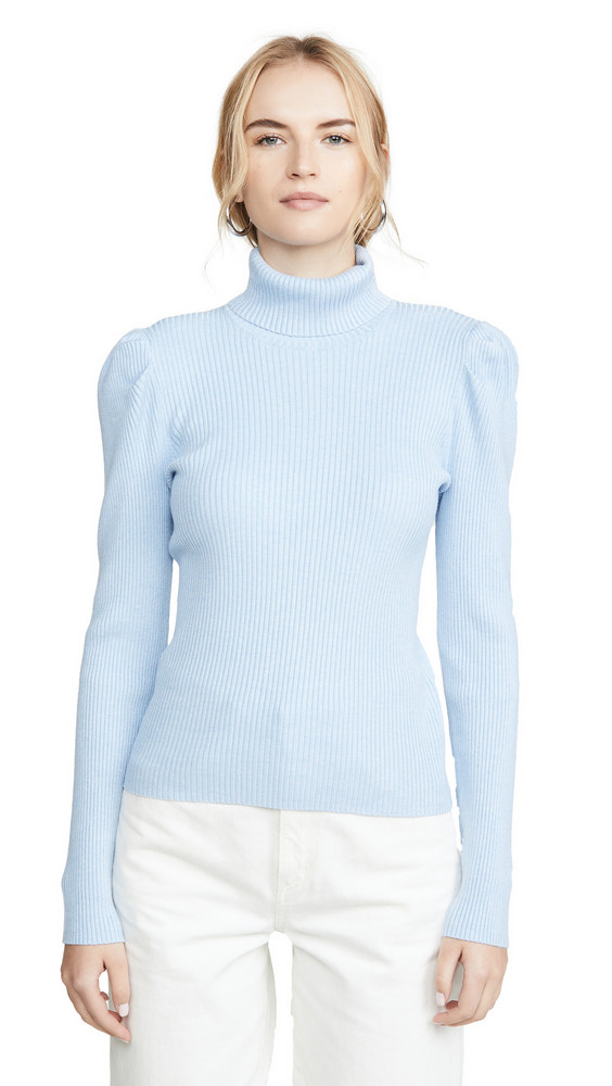 525 America Puff Sleeve Pullover in blue