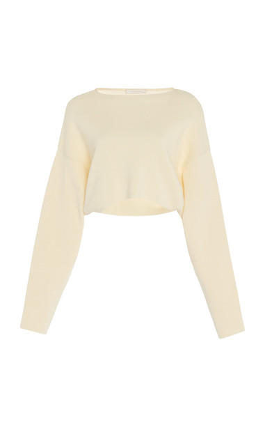 Low Classic Over Sleeve Short Knit in neutral