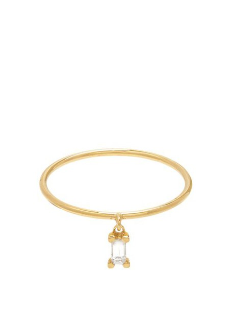 Ileana Makri - Diamond & Yellow Gold Ring - Womens - Gold
