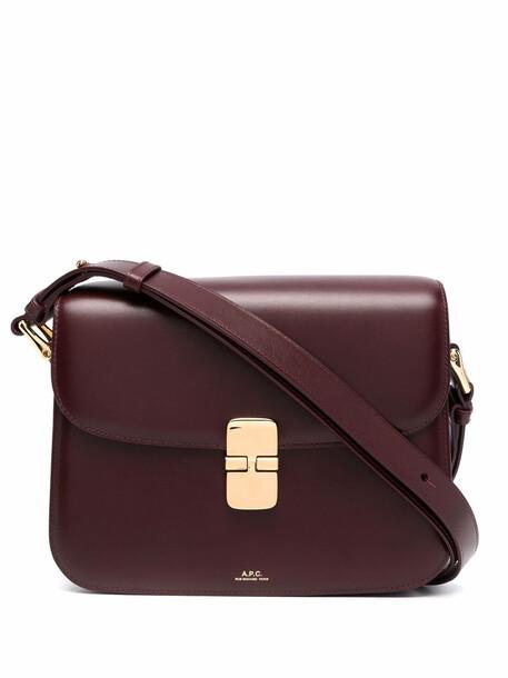 A.P.C. A.P.C. Grace mini shoulder bag - Red