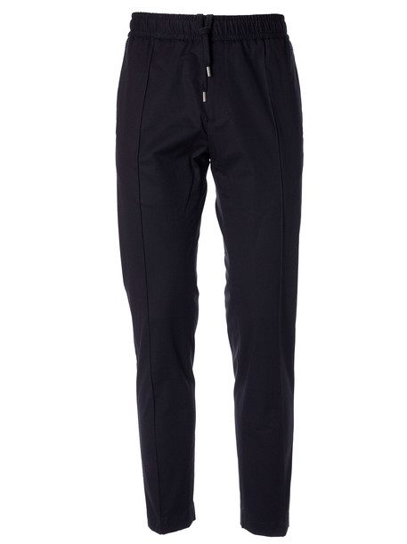 Versace Elasticated-waist Track Pants in nero
