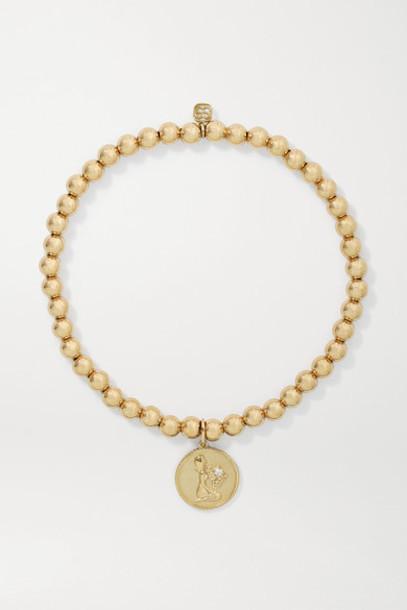 Sydney Evan - Virgo 14-karat Gold Diamond Bracelet