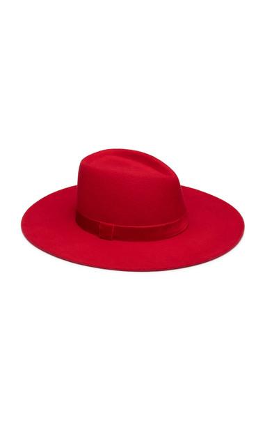 Eugenia Kim Harlowe Wool Hat in red