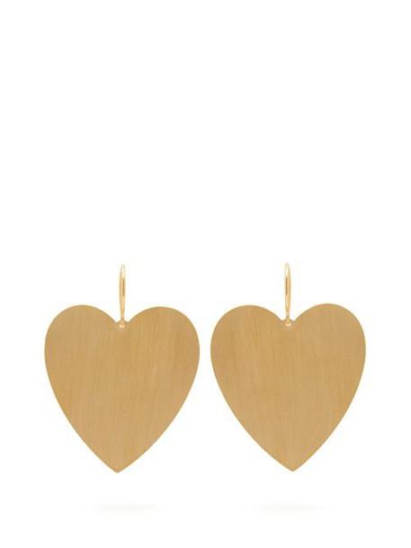 Irene Neuwirth - Heart 18kt Gold Earrings - Womens - Gold