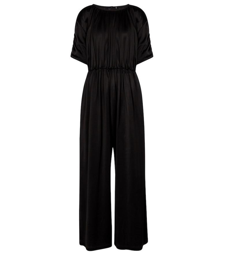 MM6 Maison Margiela Pleated jumpsuit in black