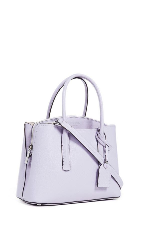 Kate Spade New York Margaux Medium Satchel in lilac