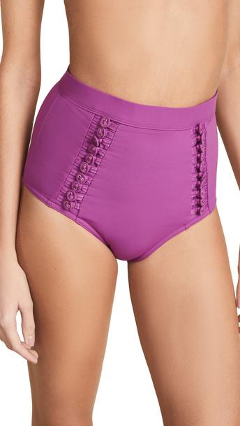 Zimmermann Separates High Waist Bikini Bottoms
