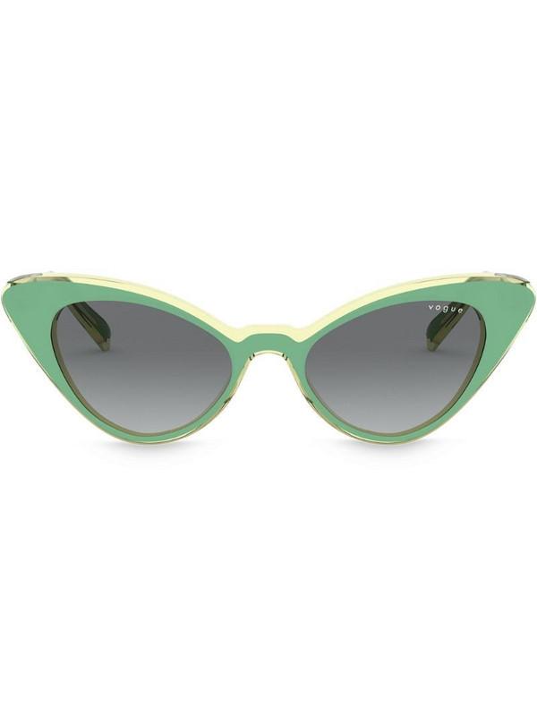 Vogue Eyewear cat eye frame sunglasses in green