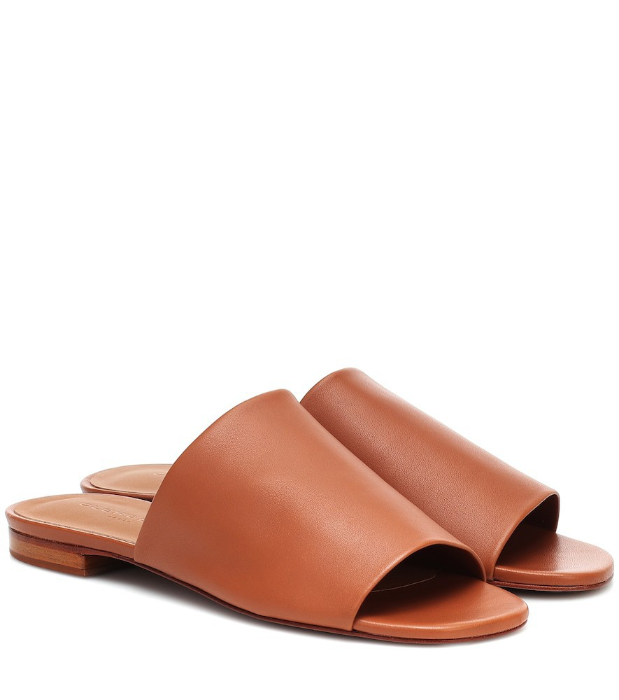 Clergerie Itou leather sandals in brown