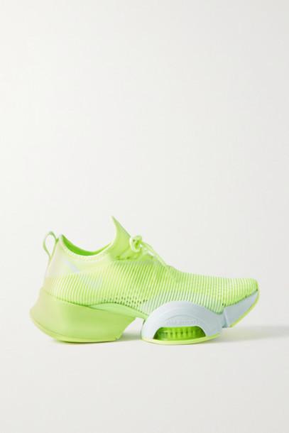 Nike - Air Zoom Superrep Neoprene And Mesh Sneakers - Chartreuse