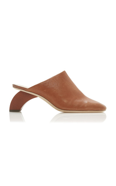 Rejina Pyo Hana Leather Mules Size: 35 in brown