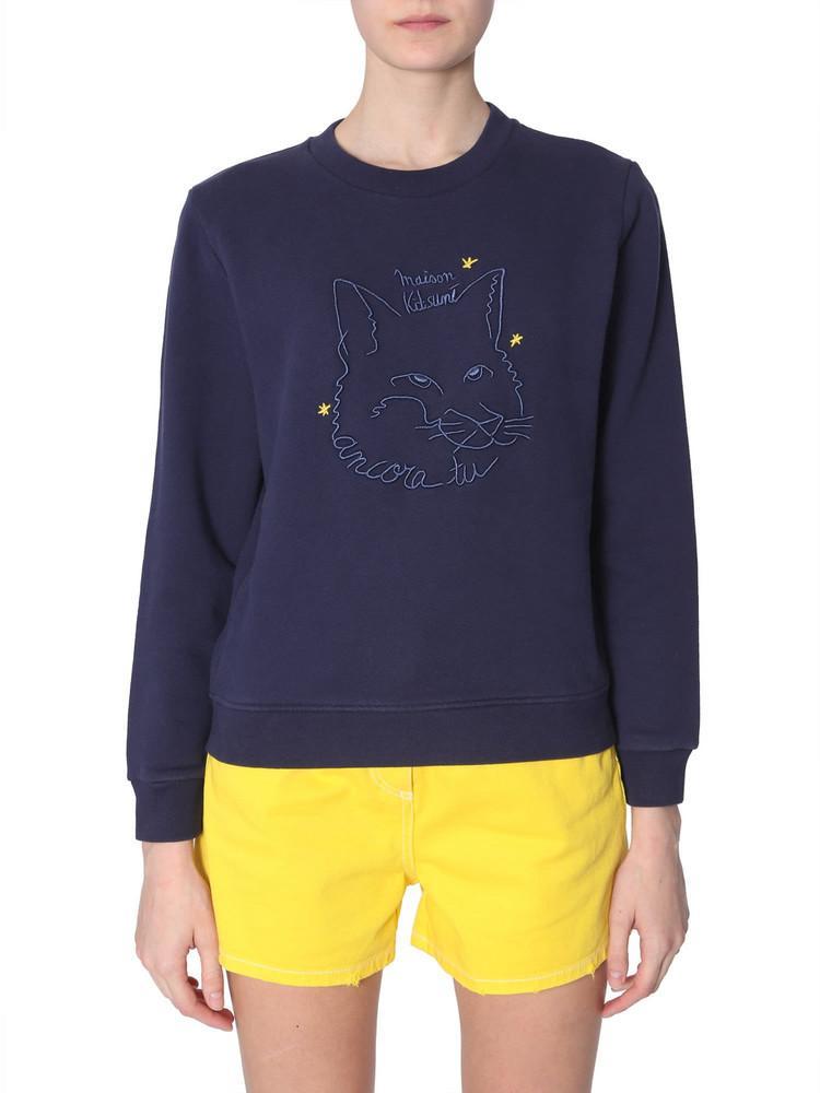 Maison Kitsuné Maison Kitsuné Fox Drawing Sweatshirt