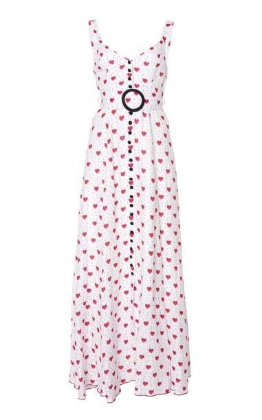 Gül Hürgel Printed Button Down Maxi Dress in print