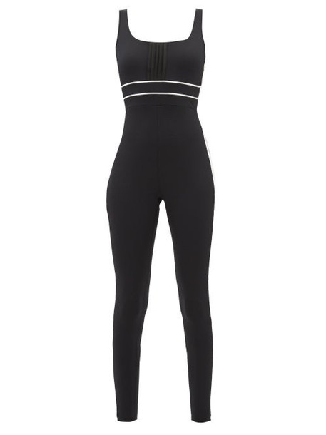 Vaara - Katie Side-stripe Bodysuit - Womens - Black Multi