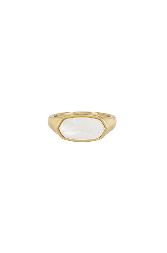 Kendra Scott Mel Ring in gold / metallic