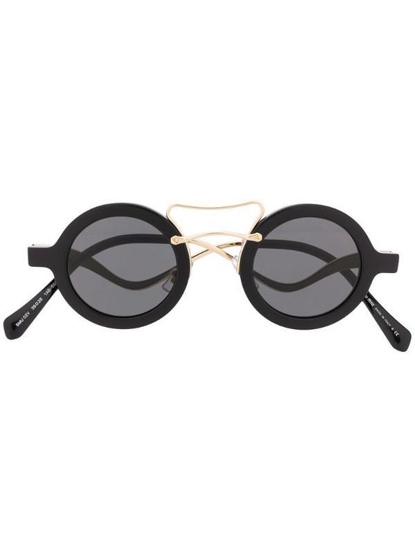 Miu Miu Eyewear round frame sunglasses in black
