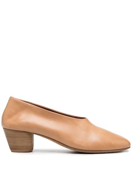 Marsèll round-toe pumps in brown