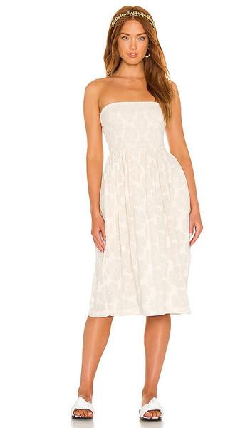 LPA Carolina Dress in Cream in white