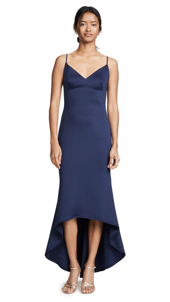 Black Halo Aremelle Gown in blue