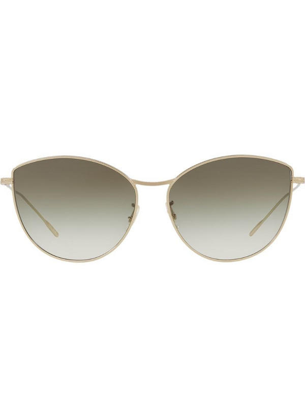 Oliver Peoples Rayette sunglasses in metallic