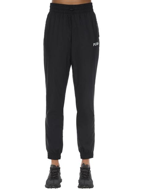 PUMA SELECT Nylon Track Pants in black