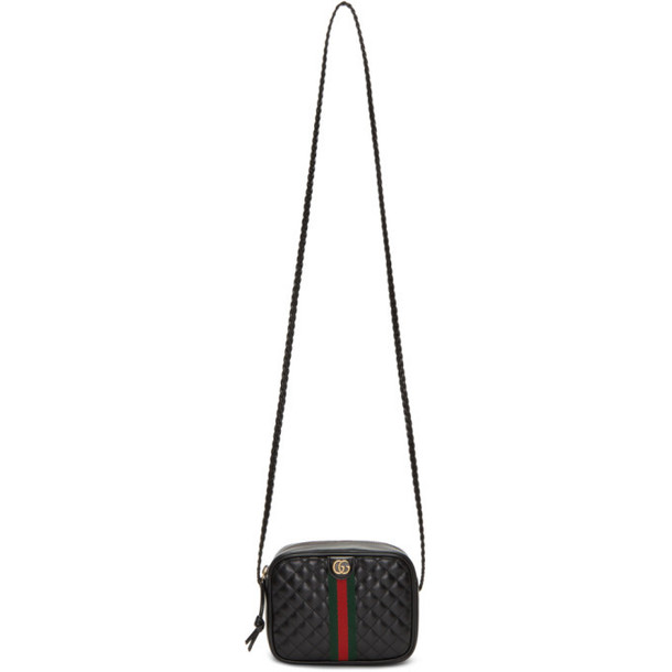 Gucci Black Small Trapuntata Shoulder Bag