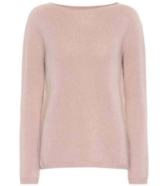 S Max Mara Giorgio cashmere sweater in pink