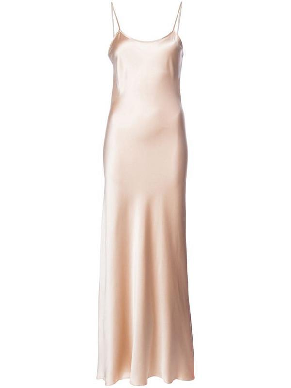 VOZ Liquid Slip dress in neutrals