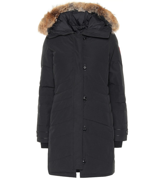 Canada Goose Lorette down parka in black