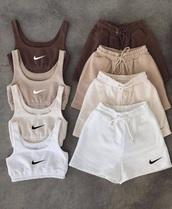 shorts,nike,set,sportswear,sports bra