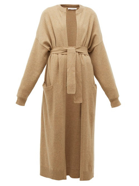 Extreme Cashmere - No. 105 Big Coat Cashmere Blend Coat - Womens - Camel